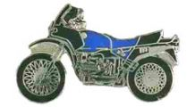 BMW R 80 Model R 80 / 100 GS (blue) ピンバッジ