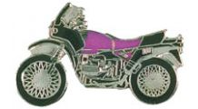 BMW R 80 Model R 80 / 100 GS (purple) ピンバッジ