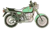 BMW R 100 Model R 100 R (turquoise) ピンバッジ