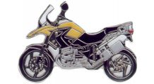 BMW R1200GS, R1200GS Adventure & HP2 R 1200 GS 2008 (yellow) ピンバッジ