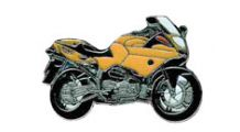 BMW R1100S R 1100 S (yellow) ピンバッジ