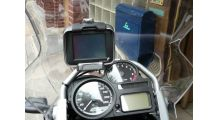 BMW R1200GS, R1200GS Adventure & HP2 GPSマウント (TomTom/Zumo)