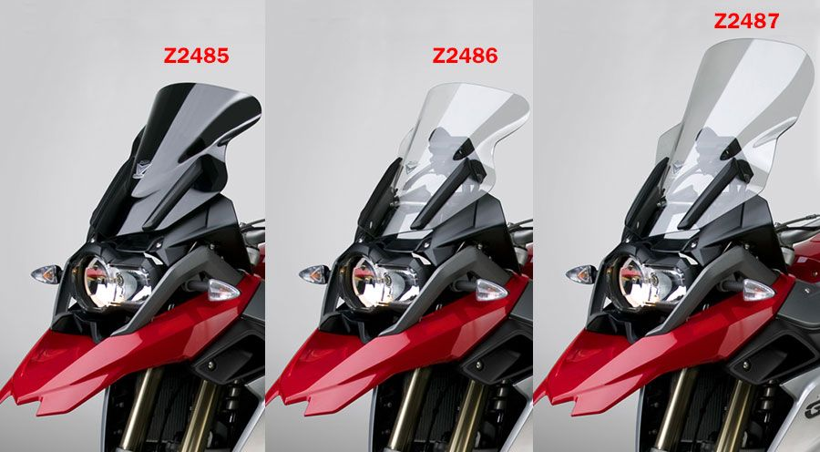BMW R 1200 GS, LC (2013-) & R 1200 GS Adventure, LC (2014-) ZTechnik ウィンドスクリーン