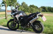 BMW F800GS Crashabrs