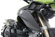Carbon Fiber cooler cover R1200GS LC 2013 Hornig