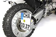 BMW R1100R Scrambler conversion by Hornig